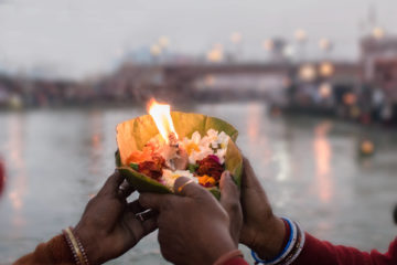 Aarti-Fetival in Indien