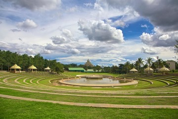See im Art of Living Ashram in Bangalore