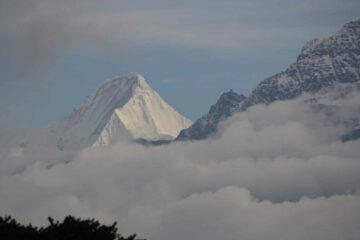 """Blick beim Trekking von Bhutans """"Druk Trek"""""""