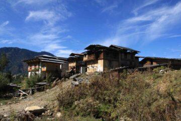 Bhutanesisches Dorf