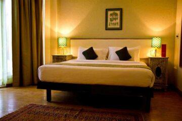 Deluxe Doppelzimmer im Ganga Kinare