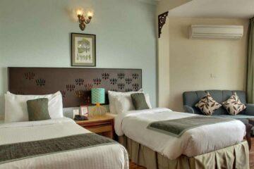 Twin Deluxe Zimmer im Ganga Kinare