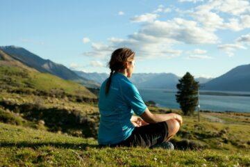 Meditaion beim Aro Hā