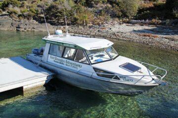 Bootsfahrt auf dem Lake Wanaka