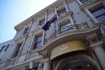 Auckland City Hotel Fassade