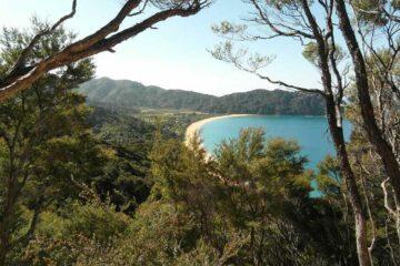 Blick über den Abel-Tasman-Nationalpark