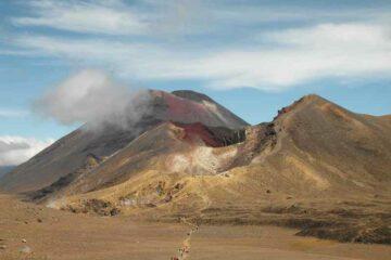 Vulkanlandschaft im Tongariro Nationalpark