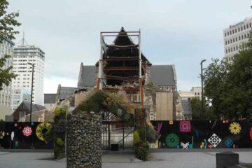 Wiederaufbau in Christchurch