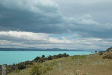 Blick auf den Lake Pukaki