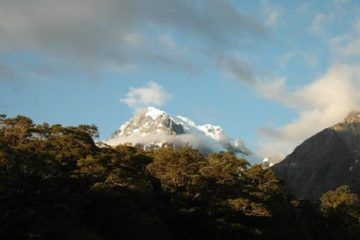 Mt. Tutoko im Fiordland-Nationalpark