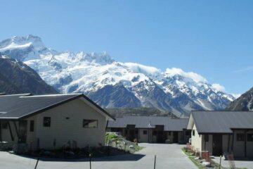 Wunderschöne Aussicht auf den Mount Sefton