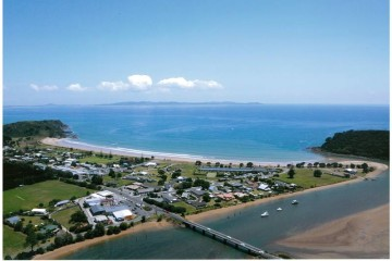 Blick über die Taipa Bay - Northland