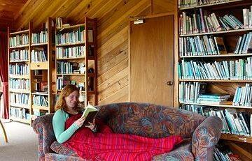 Bibliothek des Mana Zentrums