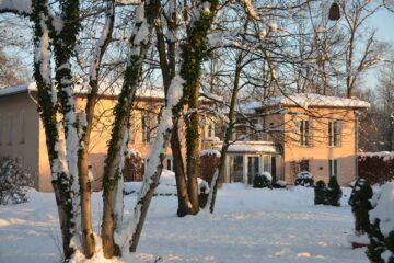 Gästehaus RoSana im Schnee