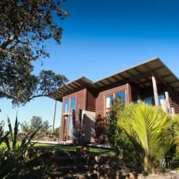 Solscape: Kreative Unterkünfte in Raglan, Neuseeland