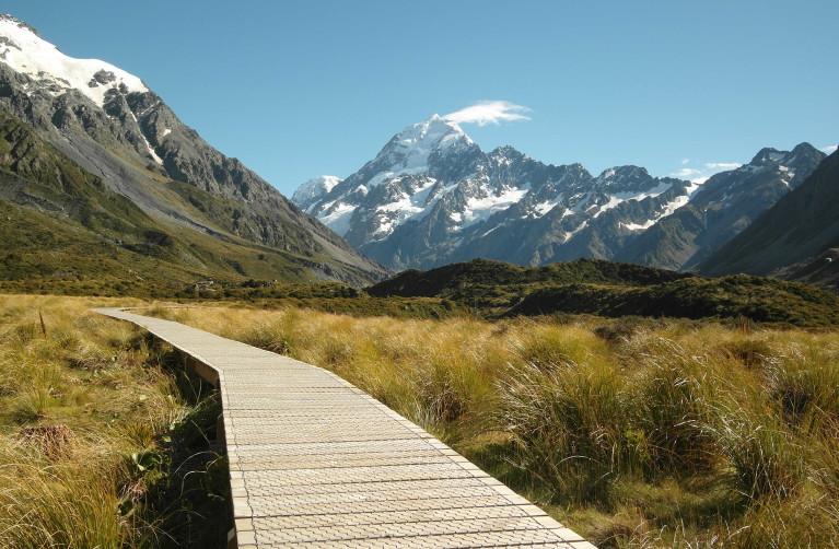 Wainando - Neuseeland, Hooker Valley Track