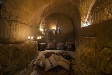 Gemütliche Sitzecke im Klosterhotel Eremito