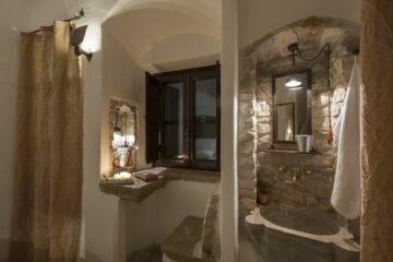 Ansicht eines Gästezimmers im Eremito