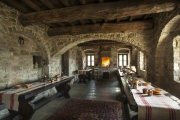 Essbereich des Klosterhotels