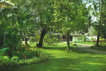 Garten des Resorts