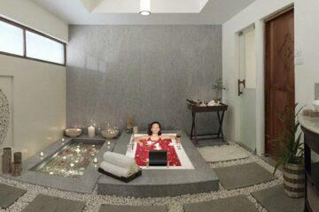 Badezimmer der Arkund Deluxe Villa