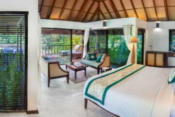 Schlafzimmer der Arkund Deluxe Villa
