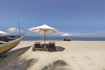 Strand des Carnoustie Beach Resort: Ayurveda-Hotel in Kerala, Indien