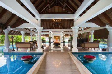 Lobby des Carnoustie Beach Resort: Ayurveda-Hotel in Kerala, Indien