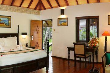 Schlafzimmer der Mallika Pool Villa