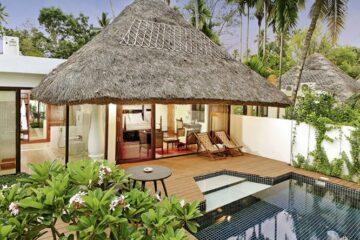 Gartenansicht der Mallika Pool Villa