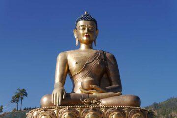 Buddha in Timphu