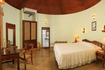 Kerala House von innen