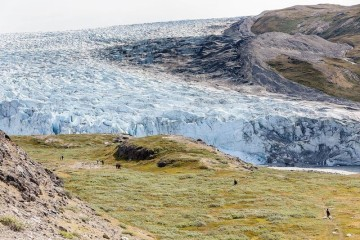 Wanderung zum Eis