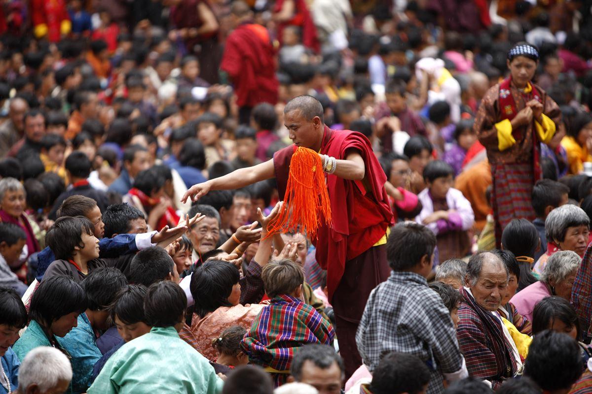 Bhutan: Die schönsten Tempel-Festivals 2016/17