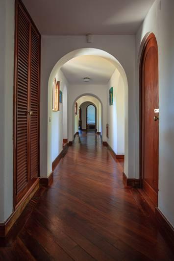 Korridor in der Villa