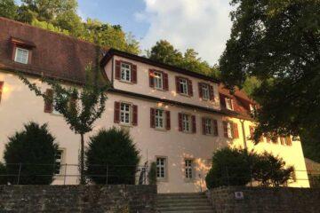 Seitenansicht des Kloster Schöntal