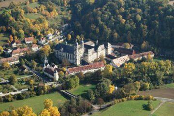 Panorama-Sicht des Kloster Schöntal