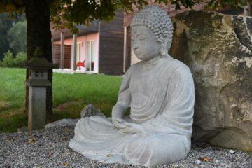Buddha beim Kloster-Tor