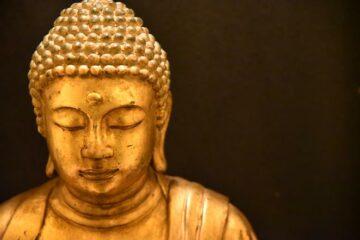 Buddha im Kloster
