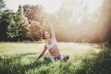 Yogalehrerin Jeanette Fuchs