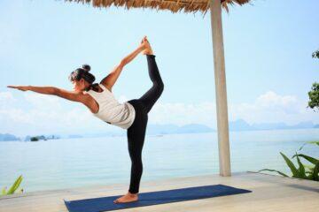 Yoga mit Meerblick