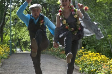 Yogalehrerin Ulrica Seiler & Guide Andreas Baumgartner