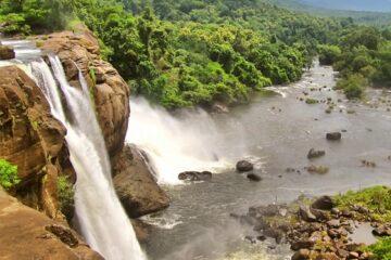 Athirappilly Wasserfälle