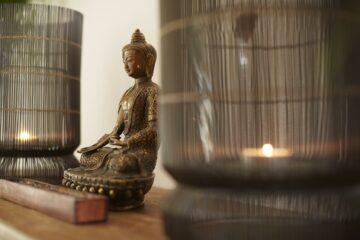 Buddha im Spa