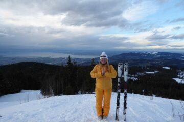 Ski-Coach Christel Joy Kluth