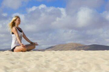 Entspannen bei Meditation