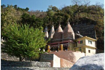 Tempelgebäude im Haidakhan-Ashram