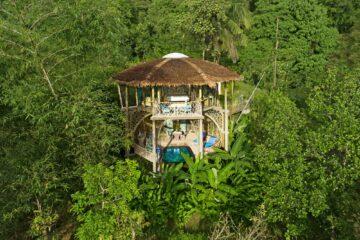 TreeHouse Villa mitten im Grün
