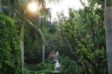 Statuen im Park