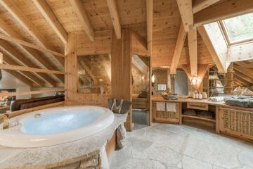 Private Sauna und Whirlpool